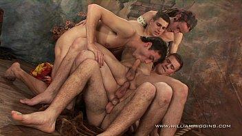 Camera prive gay fez carinho no passivo e comeu o cu dele de ladinho